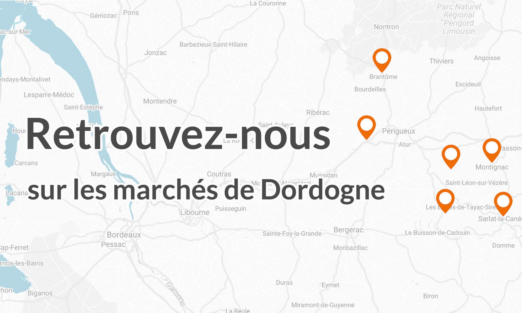 marchés Dordogne